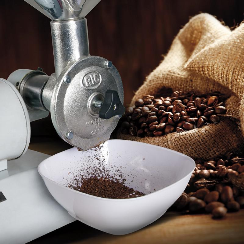 Distribuição de moedor de café